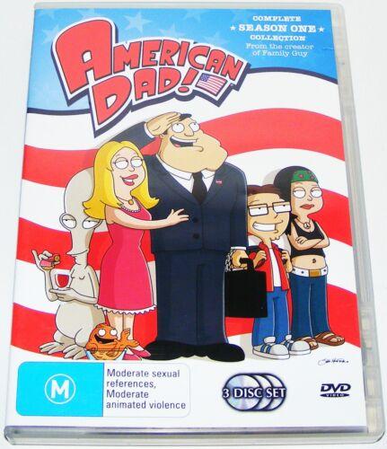 1 of 1 - AMERICAN DAD--Season 1---( Dvd 3 Disc Set)