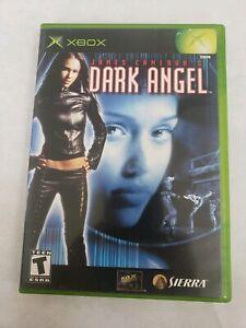 Dark-Angel-James-Cameron-039-s-Microsoft-Xbox-Video-Game-Free-Fast-Shipping