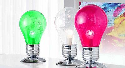Lampada Brandani Touch Me 3 Intensita Di Luce Forma A Lampadina Vari Colori Ebay