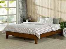 Beds For Sale Cheap Bed Frames Queen Size Platform Bed Solid Wood Cherry NEW
