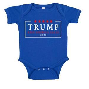5ad74b98c Re Elect Donald Trump 2020 USA Keep America Great Baby Bodysuit | eBay