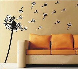 DANDELION-FLOWER-VINYL-STICKER-WALL-ART-DECAL