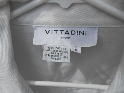 coton M Woman Twill Veste en White 100 Vittadini Sport nautique de O8aF5vxwqn