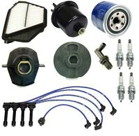 Honda Accord 2.2 94-97 Tune Up Kit Non-v-tec Filters Pcv Cap Rotors Wires Plugs on Sale