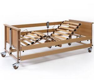 DALI-II-24V-Pflegebett-Krankenbett-Seniorenbett-Krankenhausbett-Reha-Bett-Pflege