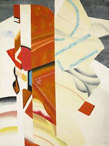 Analytique Geneviève Hugon ,née à Marseille En 1945 Carborundum Abstrait Lithographie 16/75