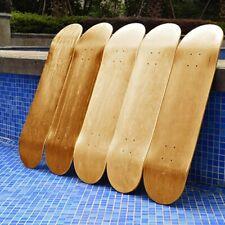 Kamenda 9-Layer Maple Blank Skateboard 8Inch Skateboards Natural Skate Deck Skateboards Deck Maple Longboard