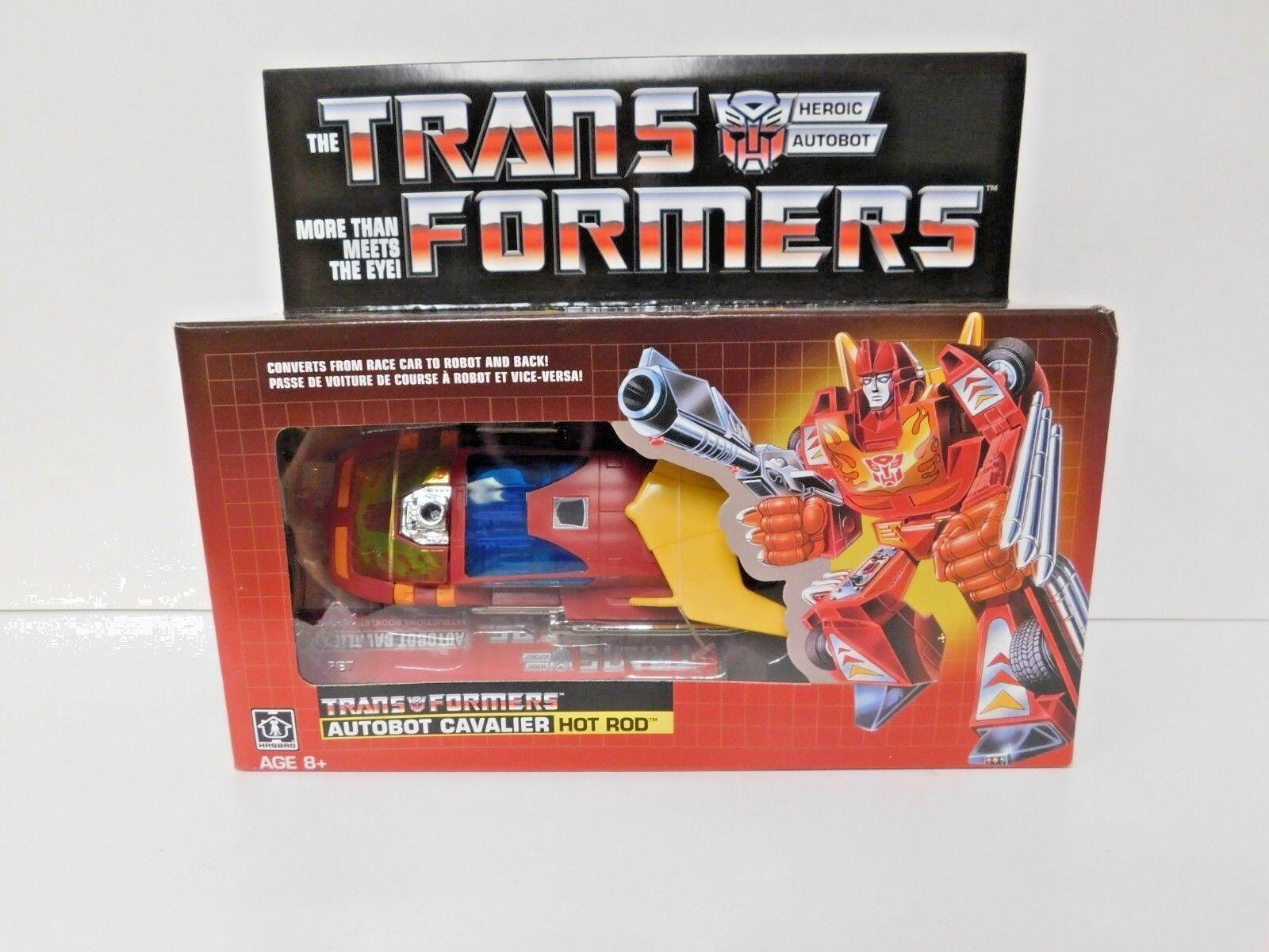 Transformers Heroic Autobot Cavalier Hot Rod