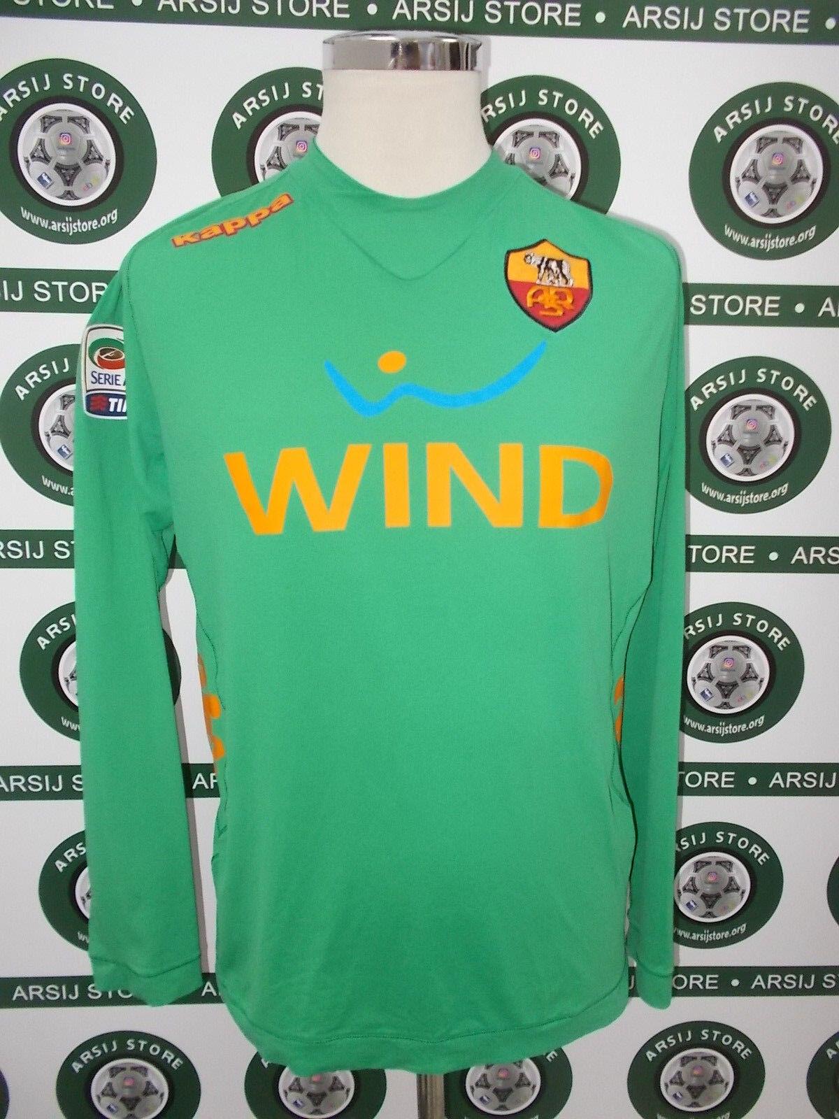 Maglia calcio shirt maillot trikot camiseta STEKELENBURG ROMA TG XL 2011 12