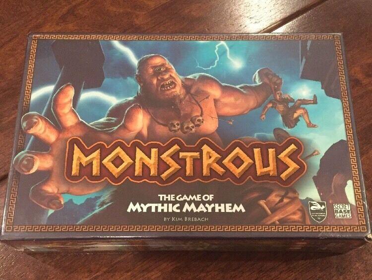 NEW Monstrous. The Game Of Mythic Mayhem. Gods. Kim Brebach  2015