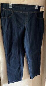 625c5985b11 Terra   Sky Womens Jeans Stretch New Generous Fit Plus Size 1X 16W ...