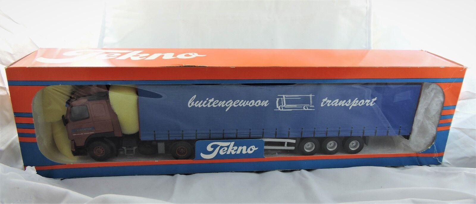 Boxed Tekno 1 50 Buitengewoon transport hauler Mint in box