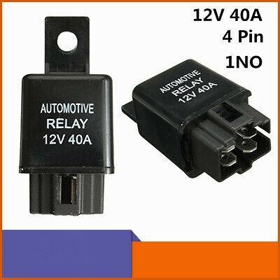 sourcingmap Car Motor DC 12V 40A 4 Pin SPST Relay 2 Pcs