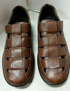 d7a06a0a0144e9 AETREX G101 Gramercy Fisherman s Leather (Comfort Diabetic) Sandal ...