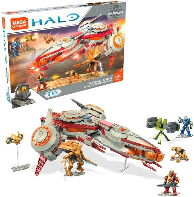 HALO Phaeton Helios Strike (FWD97) 569 pcs by MEGA CONSTRUX RARE! LQQK!