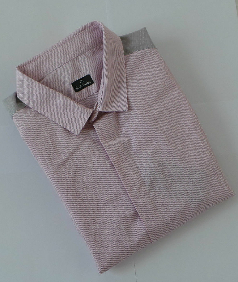 Paul Smith Shirt Size MEDIUM SLIM FIT PS