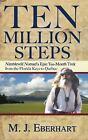 Ten Million Steps : Nimblewill Nomad's Epic 10-Month Trek from the Florida Keys to Quebec by M. J. Eberhart (2007, Paperback)