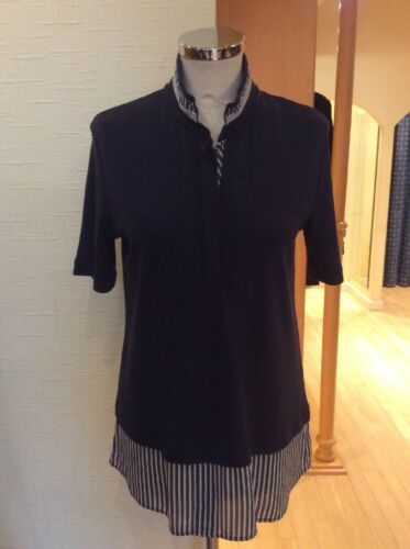 10 Top Bnwt £47 Ivory Rrp Riani Size Silver £135 Now 4058054275321 Navy FTwZnOEq