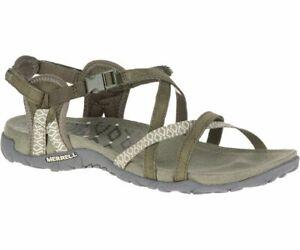 Merrell Terran Lattice II Femmes Sandale J98756 Olive Neuf