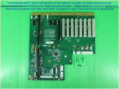 Dhltous. Industrial Backplane As Photo Sn:8260 Advantech Pce-5b13-08 Tested