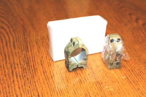 "Camo Nikko Scope rings 1/"" medium height new in box through screw construction"