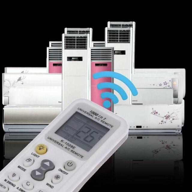 Universal HW-1028E LCD A,C Muli Remote Control RC for Air Condition Conditioners
