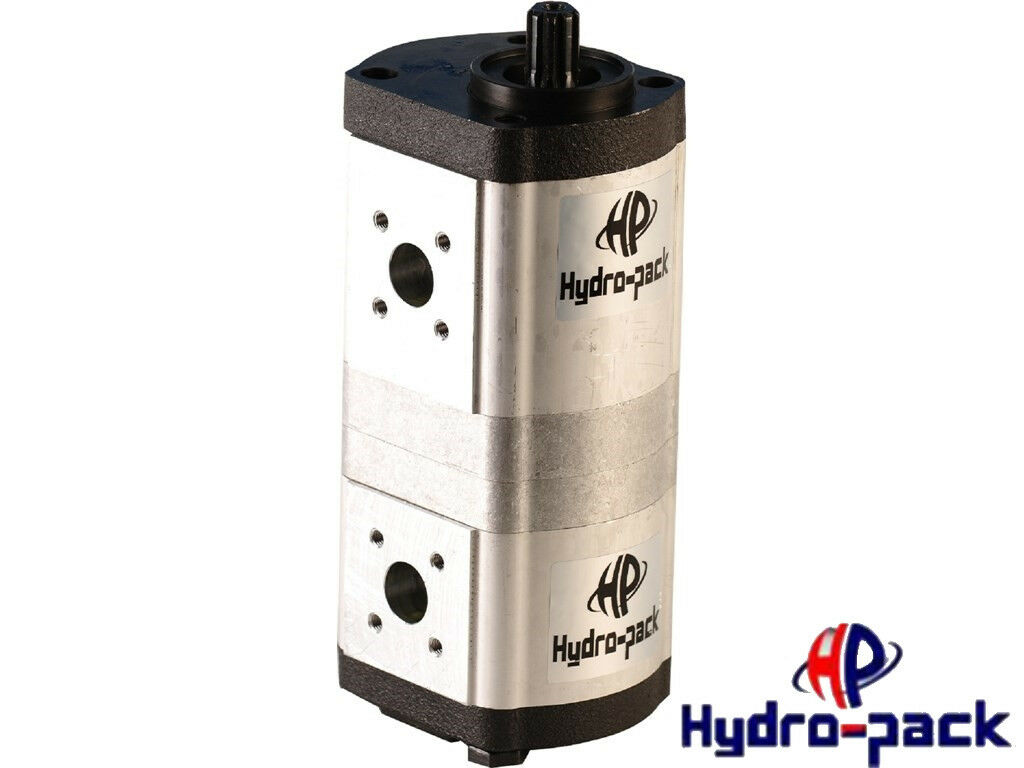 Tandempumpe Doppelpumpe Pumpe linksdrehend 12+11 ccm