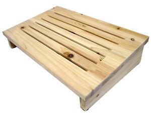 WellBeing-Cedar-Wooden-Foot-Rest-Stool-Footrest-Bench-Desk-Furniture-Home-Office