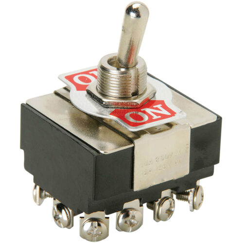 4PDT Heavy Duty Toggle Switch