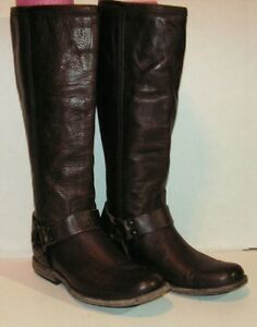 Frye 'Phillip Harness' Tall Womans Washed Leather Riding Boot Size