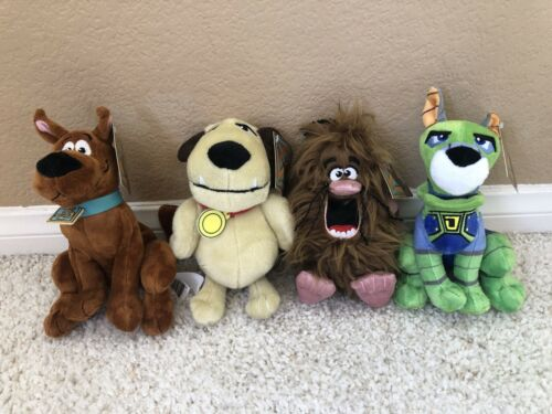 SCOOB Movie Scooby Doo Captain Caveman Muttley Dynomutt Plush 2020