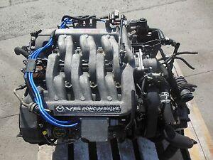 1999-2001 Mazda Mpv Engine Mazda Mpv 2.5L V6 Engine GY GY-DE Engine