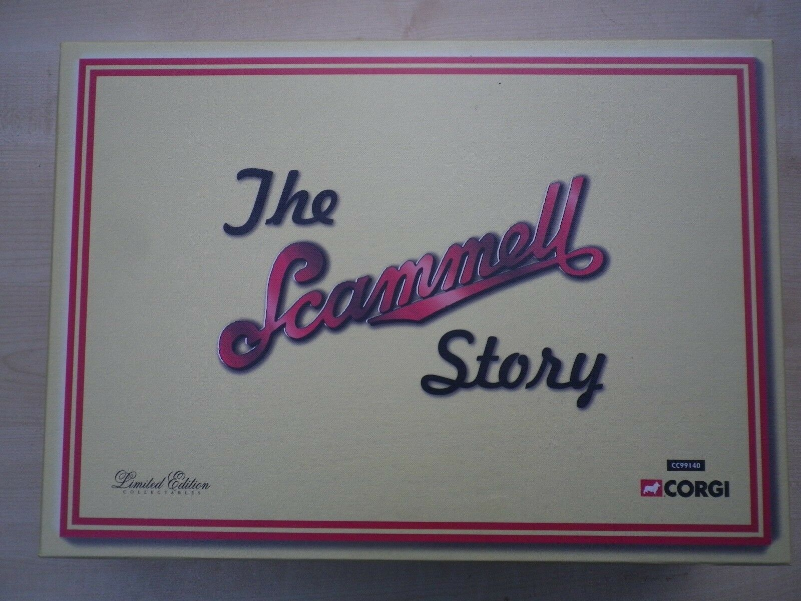 CORGI 99140 SCAMMELL story coffret Collection de 6 SCAMMELL camions