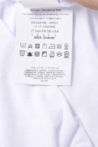T shirt Maglietta Versace Jeans Sweatshirt SLIM Cotone Uomo Bianco B3GQA792 3