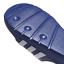 Adidas-Duramo-Mens-Slides-Flip-Flops-Pool-Beach-Slippers-Black-Navy-Blue-Stripes miniatura 31