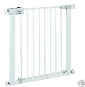 Barrera-para-Puerta-de-Seguridad-Bebes-Ninos-Safety-1st-Easy-Close-Metal-Blanco