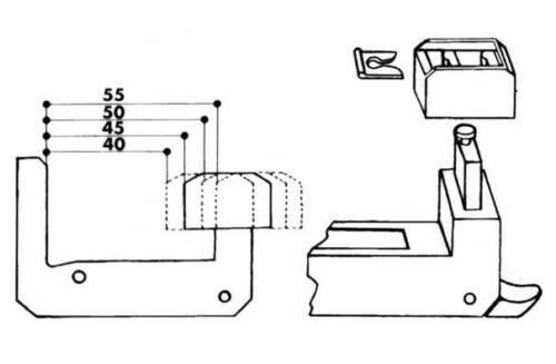 IBFM codice 638 Ferma persiane automatico in plastica nero