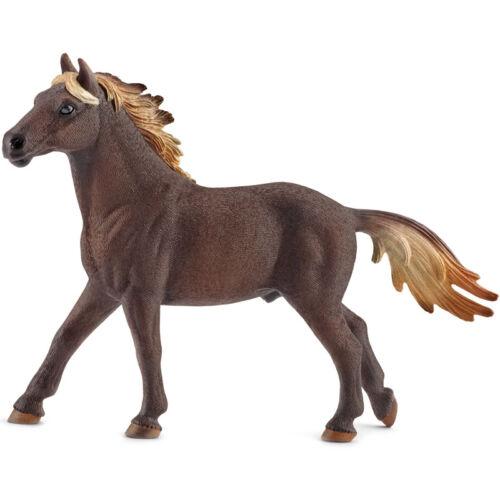 Schleich Granja vida Mustang Semental Caballo Figura Nueva