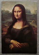 LA JOCONDE MONA LISA     postcard