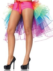 Burlesque-Rainbow-Bustle-Layered-Petticoat-Skirt-or-Multi-Layered-Mini-Tutu