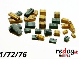 1-72-76-amo-crates-and-boxes-kit-28-pieces-military-modelling-diorama-b2