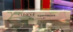 CLINIQUE SuperMascara 01 SUPER-BLACK (Net wt. .2oz/5.6g)