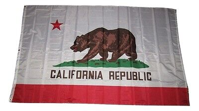1.5mx8 'state Of Kalifornien Flagge 1.5x2.4m Fahne Groß Verblassen Beständig Letzter Stil