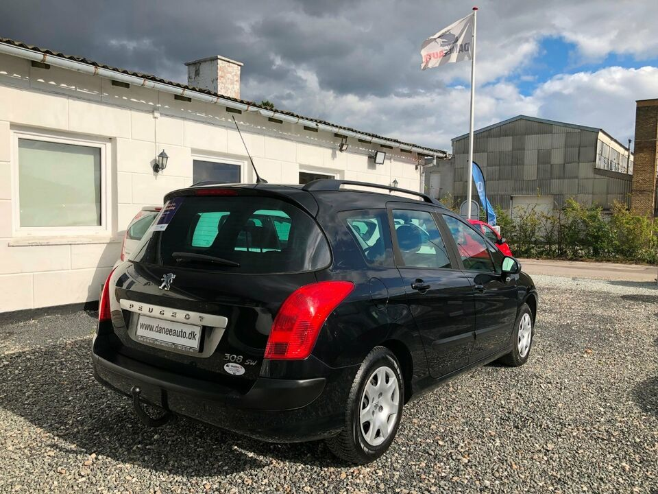 Peugeot 308 1,6 HDi 90 Comfort+ stc. Diesel modelår 2009 km