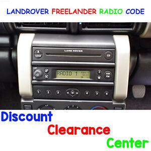 Landorver Freelander 1 Facelift 03 06 Factory Car Radio M Serial