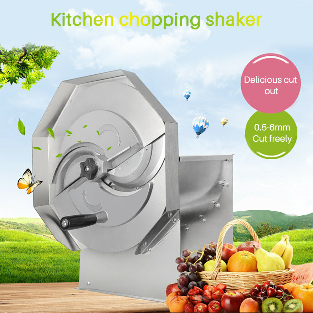 Stainless Steel Commercial Household Manual Fruit and Vegetable Slicer T