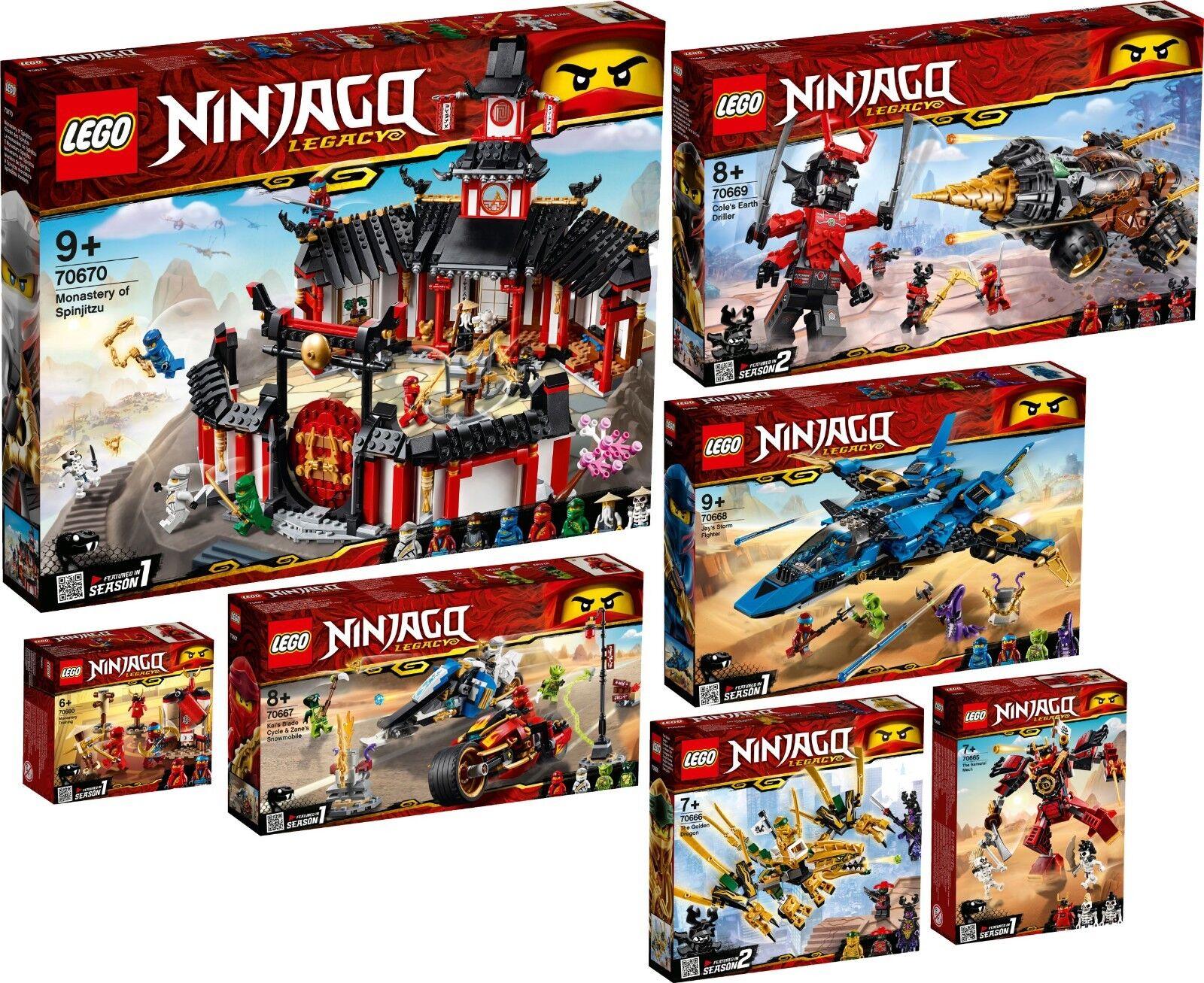 LEGO NINJAGO 70670 70669 70668 70667 70666 70665 70680 Spinjitzu N1 19