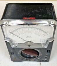 Vintage Triplet Voltmeter Model 630 Na Type 2 Untested