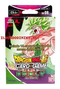 DRAGON-BALL-Super-Starter-Deck-08-Rising-Broly-mazzo-ITALIANO