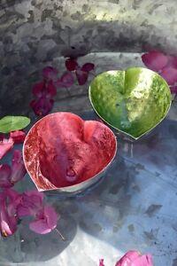 Schwimmschale Teelichthalter Herz F R Den Teich Gr N Rosa